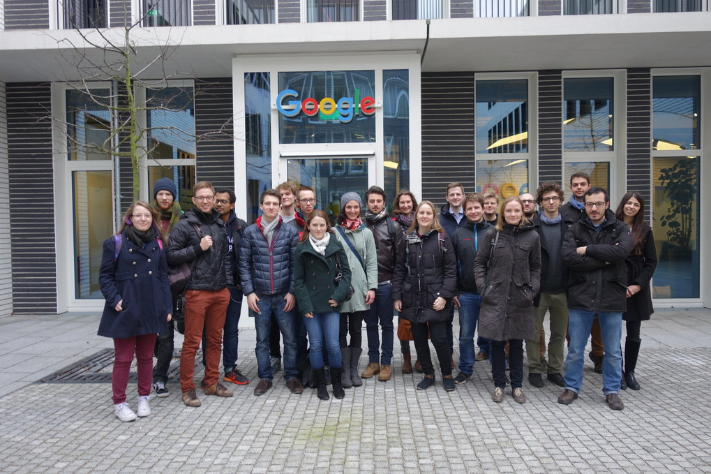 February 20th, 2017<br /><br /><strong>IMPRS-QST industry excursion </strong><br /><strong>Visit to Google Munich Office</strong>